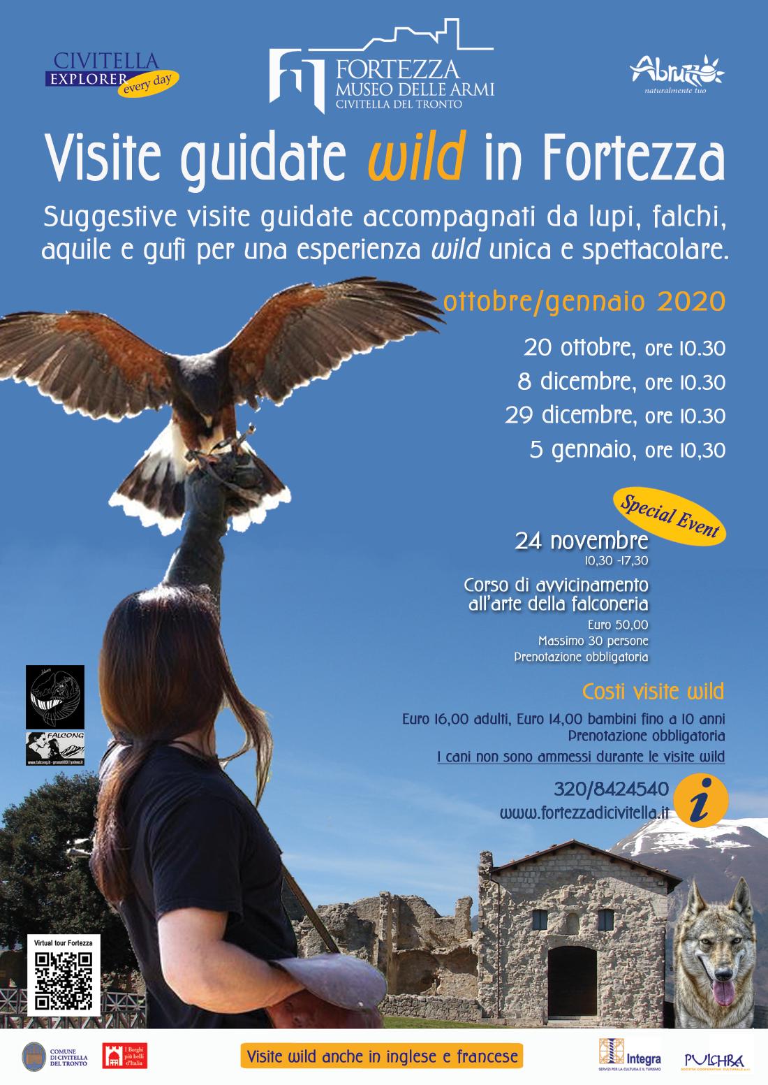 PROGRAMMA VISITE WILD OTTOBRE-GENNAIO 2020